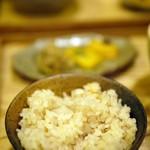 中央食堂・さんぼう - 大豆ごはん