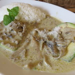 マドッシュカフェ - アボカドココナッツグリーンカレー3