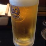 和楽 - 生ビール