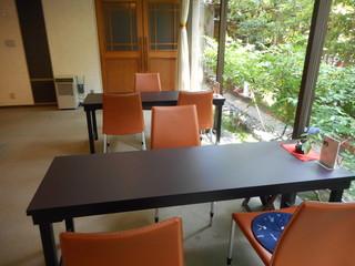 行形亭 - 喫茶室の内観②