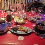 53404446 - 手作りのクッキー、食後のコーヒーもおもしろい(^^)