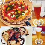 Beer & Chicken 大山 - 何か,食べ物メニューが美味しくなってる‼︎ マルゲリータ500円はお値打ち‼︎