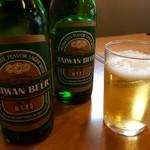 新台北 - 今宵も台湾ビールにて!