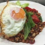 アジアン食堂 Pakchee - 鶏挽肉のガパオ炒め(単体)
