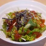 天ぷら うらかみ - サラダ