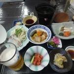 旭温泉 - 夕食