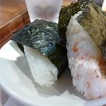 京都 錦 中央米穀 - 鶏そぼろ味噌とたらこ