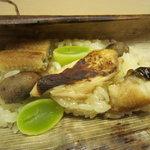 杢兵衛 - 松茸、穴子、むかご、銀杏