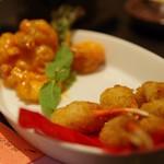 アジアンキッチン 媽媽や - 蟹爪&海老チリ
