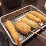 串のきっしゃん - 串カツセット