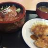 市場寿し - 料理写真:漬け丼ランチセット 850円