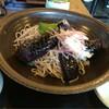 藤かけ - 料理写真:揚げナスそば  950円