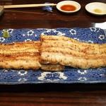 うなぎ 魚政 - 天然ウナギ 白焼き