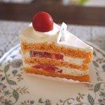 エルヴェラヴィ - 料理写真:トマトのケーキ