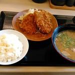 53415144 - とん汁定食