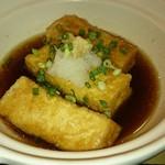 53416570 - 島豆腐の揚げ出し