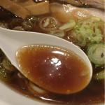 城東烈火 - バランスの取れた素晴らしいスープ。