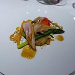 I・K・U 青山 - 雛鳥のロースト そのジュとオリーブオイルのソース