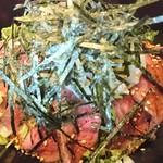 焼肉 はなぶさ - 和牛ローストビーフ丼♪