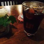 Cafe Rosso - アイスコーヒーも苦味が美味しい♡