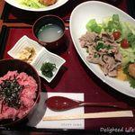 麻布茶房 - 豚しゃぶおろし御膳(1250円税込)16.5月