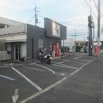 らーめん美春 - 駐車場完備です(2016.7.2)