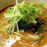 53422772 - トマトカレーつけ麺(麺180g)780円