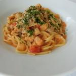 レストラン タガミ - あさりのトマトクリームスパゲティ