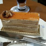 モナリザ - キャラメルケーキを選びました