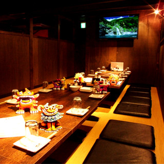 ◆南国気分を味わう!琉球音楽が流れる心地の良い空間◆