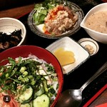 遊食彩旬 乃'SAN - 【夏季限定】冷や汁定食