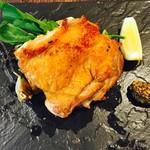 軽井沢ベジビエ - 信州ハーブ鶏の1枚丸ごとパリパリグリルチキン