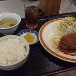 ロビン - ハンバーグ定食 800円