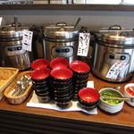 めぐみのさと - カレー・みそ汁・スープ