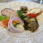 TRATTORIA AL CENTRO - ずし呑み:前菜の盛り合わせ