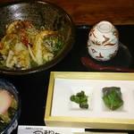 風和里 - 焼き豚丼御膳 1380円