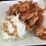 とんきち - から揚げマウンテン定食 ¥899