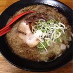 ラーメン 松壱家 - 料理写真:九州とんこつブラック¥650