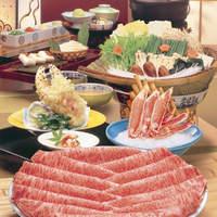 札幌かに家 - 特選近江牛しゃぶしゃぶ、絶品です。