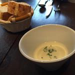 53440057 - 【ランチ】スープ・パン付き