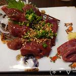 53440326 - 鶏のレバ刺(700円)ぷるんぷるん!!