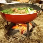 間々宮 - キノコ鍋
