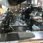 立川マシマシ - 3番席、暑い・・・