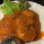 中国料理 四川亭 - エビチリハーフ