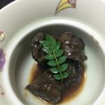 元湯旅館 - タニシの味噌煮