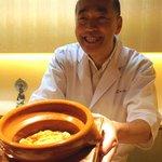 神楽坂 石かわ - 本鱒の土鍋ご飯 山椒風味