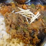 53445509 - 野菜たっぷりのキーマカレー