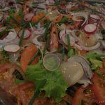 精養軒プルミエ - シーフードマリネのサラダ