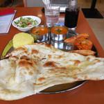 ケララキッチン - ...土日祝「C Set(950円)」、ごく普通のインドカレー店になってしまった。もう八潮PTで南インド・ランチを食べれない(泣)