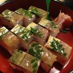 53447013 - 鯖寿司これでハーフ!